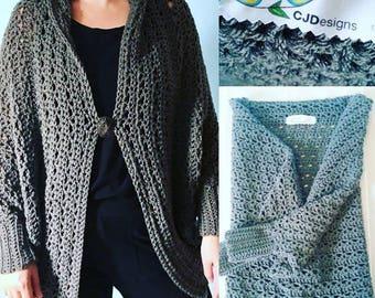 Crochet Afghan Cardigan