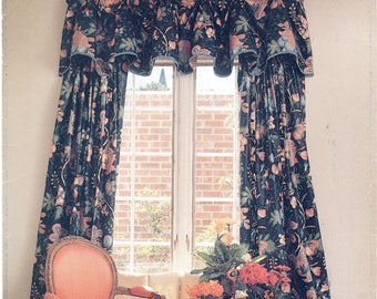 Valances Sewing Pattern Butterick 6038 UNCUT, Better Homes & Gardens, Mounting Board, Pleated, Boxed, Window Treatments, Home Cottage Decor