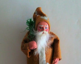 Early German Santa Candy Container Father Christmas 1900 - 1920