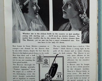 Vintage 1930s Book - The Bride's Book Dorothy Stote  - wedding planner - home decor - fashion leisure and beauty advice - 30s advertisements