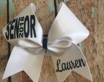 SENIOR Cheer bow Pick your colors