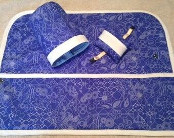 SALE Sewing Machine Mat, thread catcher, pin cushion, wrist strap