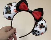 Captain Mickey Mouse (Pirate) inspired Mickey/Minnie Disney ears