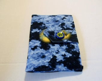 Moon in Clouds Fabric Paperwhite/Kindle Touch/Nook Simple Touch Cover