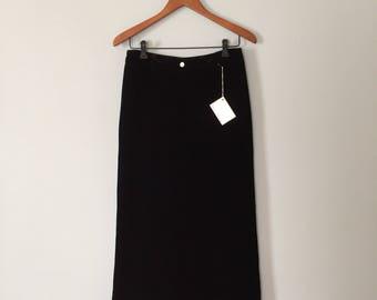 black velvet palazzo pants | wide leg velvet pants | 90s Sundance velvet palazzo pants