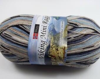 44% off Viking of Norway Viking Mini Raggen Sock Yarn Superwash Wool & Nylon Color 522