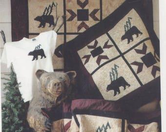 Adirondack Bears Quilt Pattern - Uncut - Q001