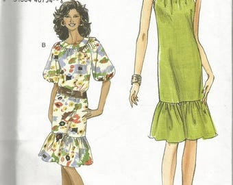 Vogue 8229 Women's Dress Pattern SZ 14-20