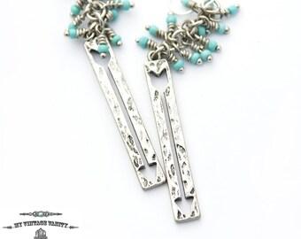 Arrow Turquoise Earrings
