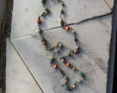 When We Made the Wheel: artisan bead necklace