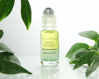Rainforest perfume essence | Scent with Jasmine and Citrus | 100% natural and vegan