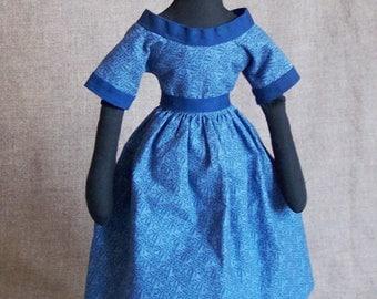 Lilly Jackson, primitive rag doll / folk art doll by Jan Conwell Folk Artist