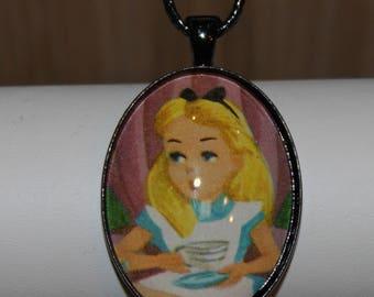 Disney Alice in Wonderland Vintage 1950 Necklace