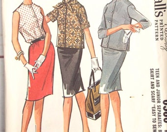Vintage Sewing Pattern - Mod Sewing Pattern - 60s Sewing Pattern - McCalls 6586 - McCalls Sewing Pattern - Suit Pattern