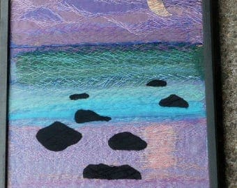 Moonrise - Stitchery