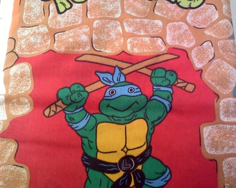 Teenage Mutant Ninja Turtles Twin Flat Sheet