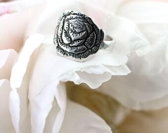 Peony Flower Ring