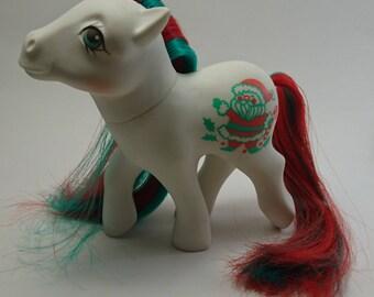 Vintage My Little Pony - Merry Treat - Christmas Pony - Very good condition