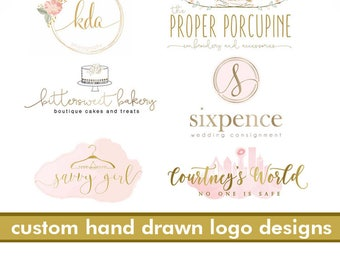 custom logo design custom logo package custom branding graphic designer custom logos blogger real estate photography branding logo package