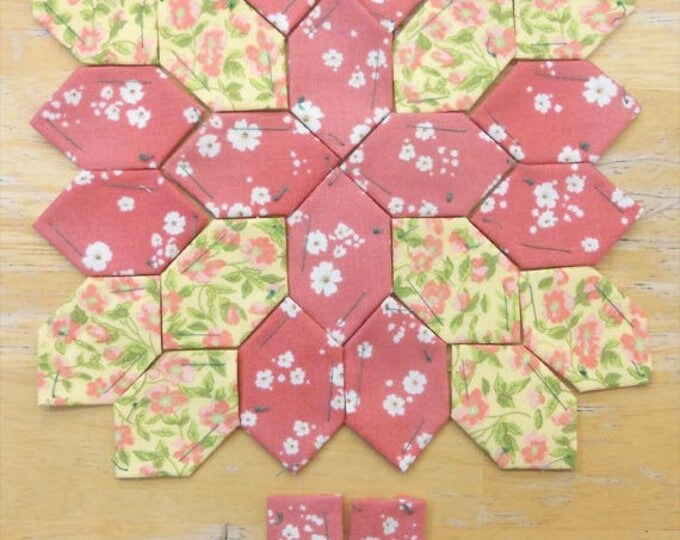 Lucy Boston Patchwork of the Crosses summer cottage block kit #6