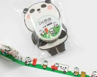 Lovely Panda Washi Tape (15mm X 6M)