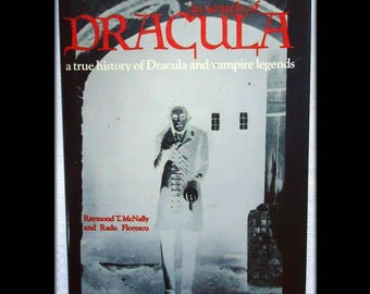 In Search of Dracula: A True History of Dracula and Vampire Legends - Vintage 1972 Book - Occult / Esoteric / Vampirism / Folklore