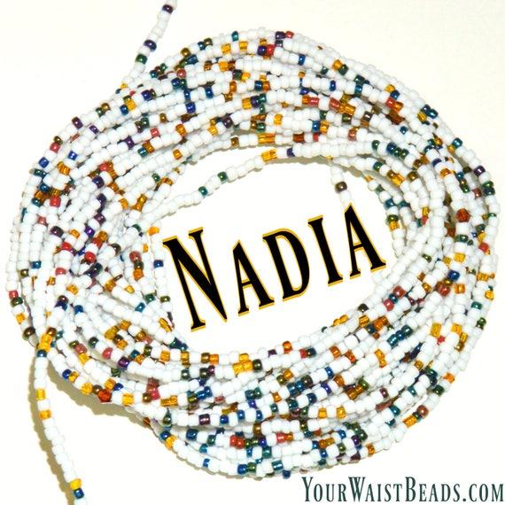 Waist Beads Custom fit ~Nadia ~ YourWaistBeads.com