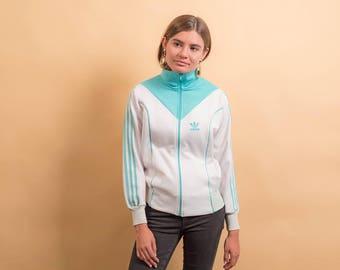 80s Adidas Jacket / Vintage Adidas Jacket / Track Jacket / Vintage 80s Jacket Δ fits sizes: XS/S