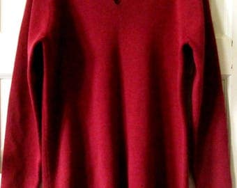 Eileen Fisher Wool V Neck Sweater, S - M
