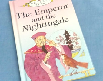 Vintage Ladybird Book The Emperor and the Nighingale - Series 606D Well Loved Tales - 1987 1st Edition - Glossy Covers