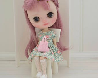 Lovely Little Tea Party Dress for Middie Blythe by Sweet Petite Shoppe