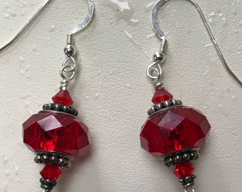 Passion Red Earrings