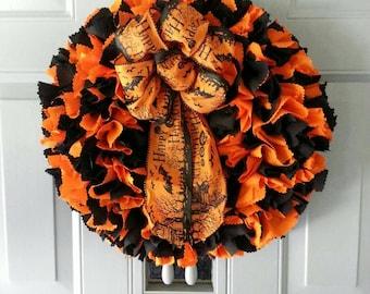 Halloween Wreath for Front Door, Halloween Door Decor, Halloween Door Wreath, Halloween Wreath, Front Door Wreath, Front Door Decor