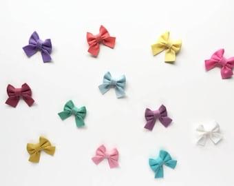 Baby Headband, Sailor Bows, Newborn Headband, Baby Girl, Felt Bow, Nylon Headband, Schoolgirl Bows, Baby Hair Bows, Girls Headbands, Hairbow