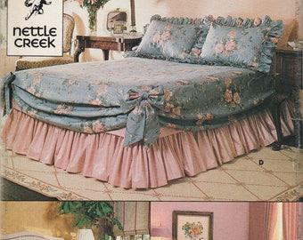 Bedspread Pattern Butterick 3658 Uncut