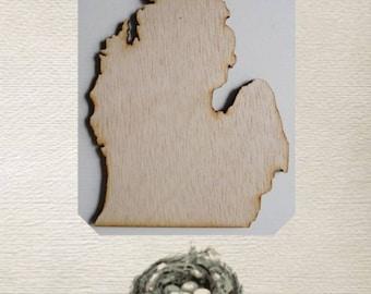 Michigan State (Medium) Wood Cut Out - Laser Cut