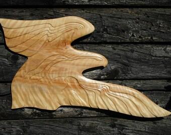Bald Eagle Wood Carving