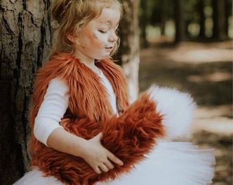 Fox headband- fox ears- fawn costume- fox costume