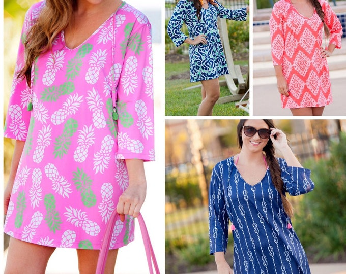 Monogram Swimsuit Coverup, Beach Coverup, Monogram Coverup, Swimsuit Coverup, Bridesmaid Gifts, Monogrammed Gifts, Group Discounts