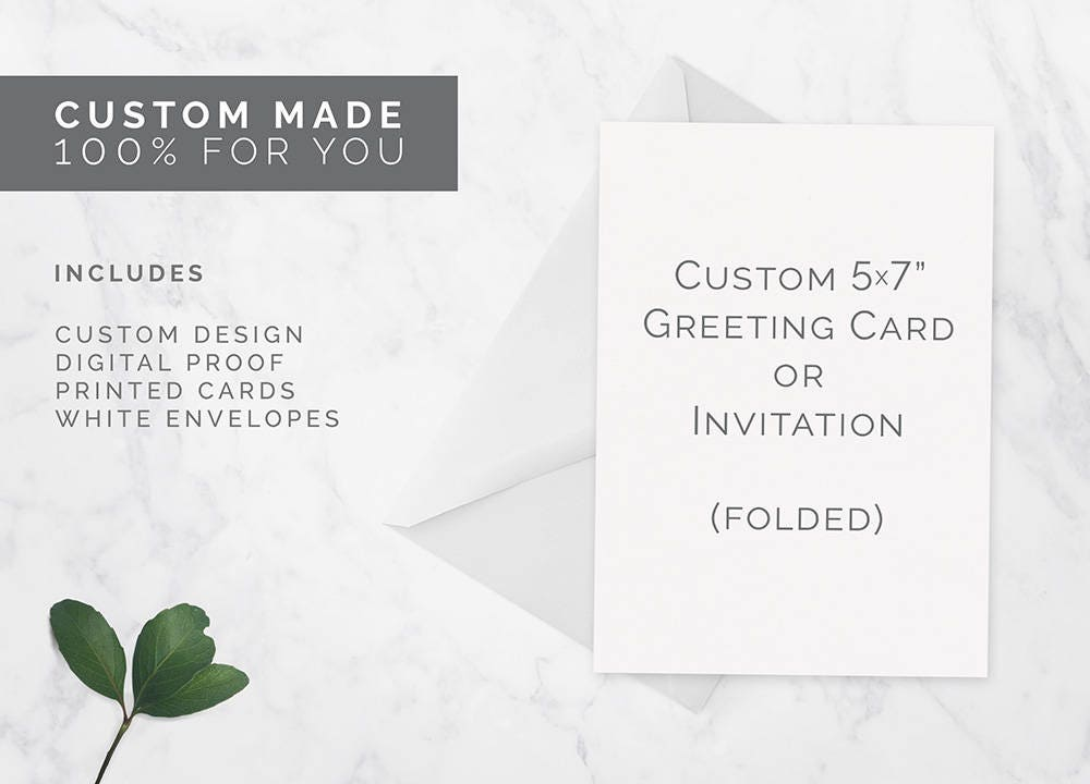 custom folded card custom invitations printed cards party invites