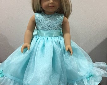 Princess Dress for 18 inch Doll like American Girl