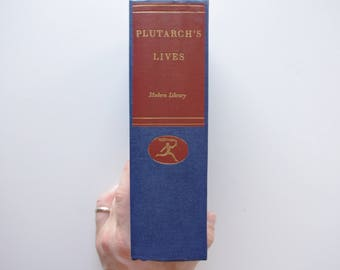 Plutarch's Lives One Volume Modern Library Giant - The Modern Library 1960 - Translated by John Dryden