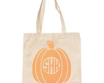 Custom Monogram Pumpkin Iron On