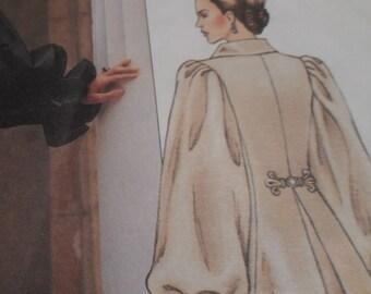 2002 Vogue P935 American Designer Oscar de la Renta Coatdress Sewing Pattern, Size 12-14-16