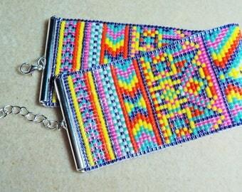 Fiesta Loom Bracelet