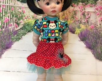 Cute Mouse Outfit fits Saffi by My Meadow