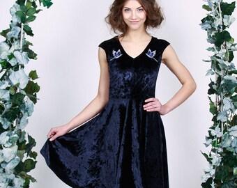 Velvet Birds - short dress