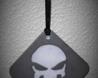 The Punisher Themed Ornament, SS, Frank Castle1