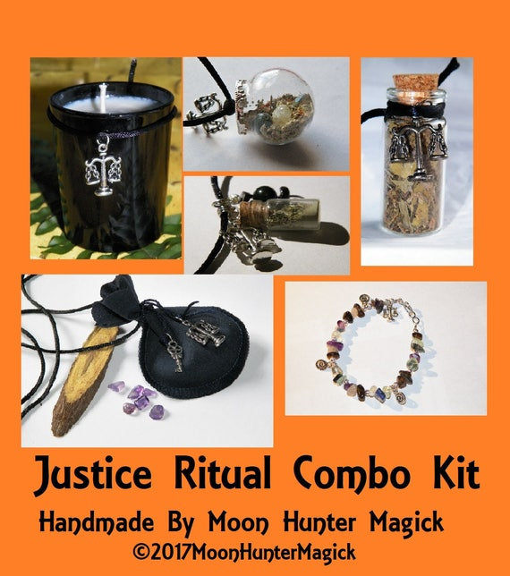 Justice Court Case Ritual Combo Kit #1