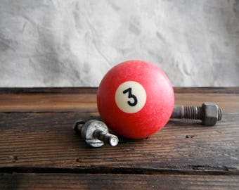 Pool Ball 3 - Red Solid